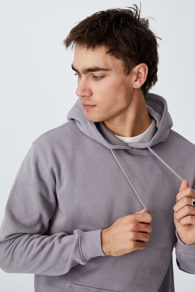 Essential Fleece Pullover, WASHED BRICK