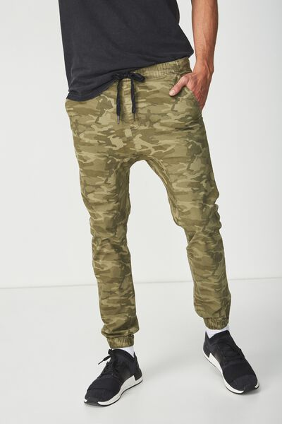 Drake Cuffed Pant, WASHED DOWN CAMO