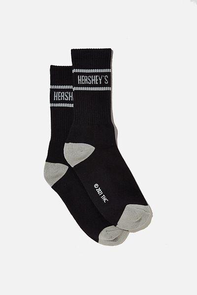 Special Edition Active Sock, LCN HER HERSHEYS/BLACK STRIPE