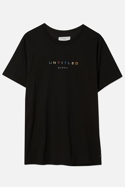 Dylan Tee, BLACK/UNTITLED SUPPLY