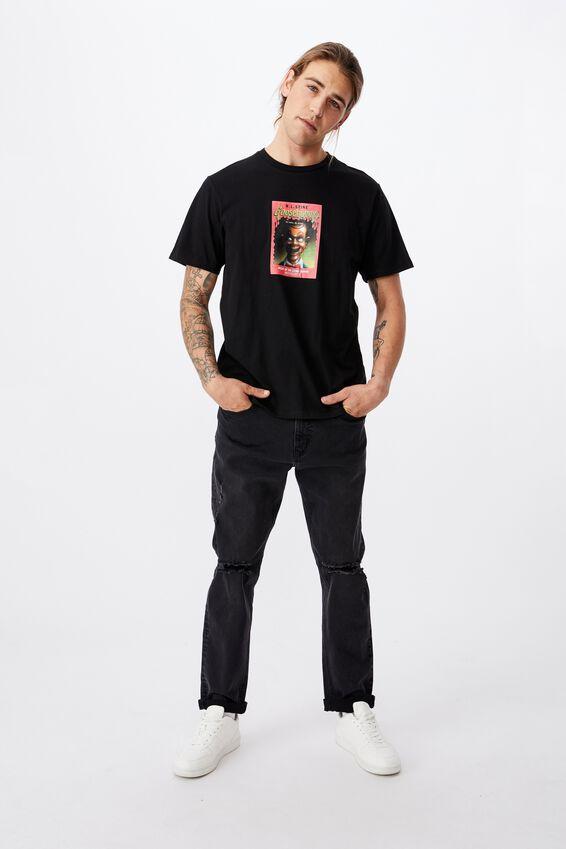Tbar Collab Movie And Tv T-Shirt, LCN SON BLACK/GOOSEBUMPS - DUMMY