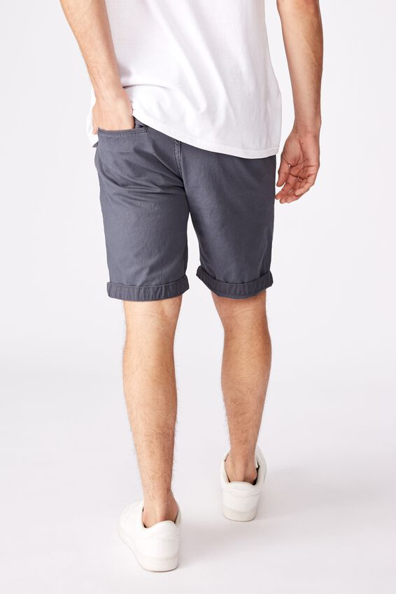 Washed Chino Short, PIGMENT INDIGO