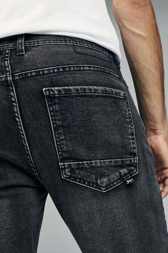 Slim Fit Jean, WORKER GREY