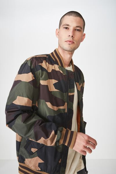 Airforce Bomber Jacket, CAMO