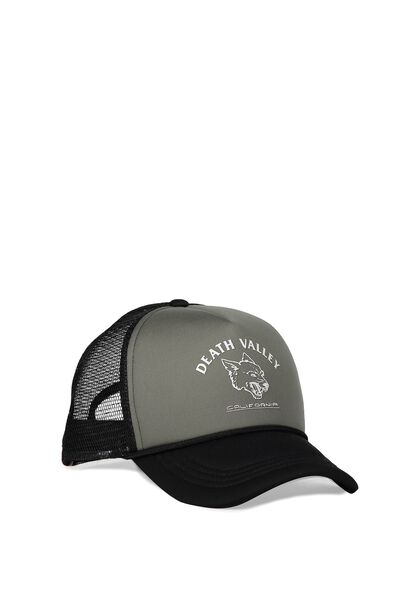 Wicked Print Trucker, DEATH VALLEY/CHARCOAL