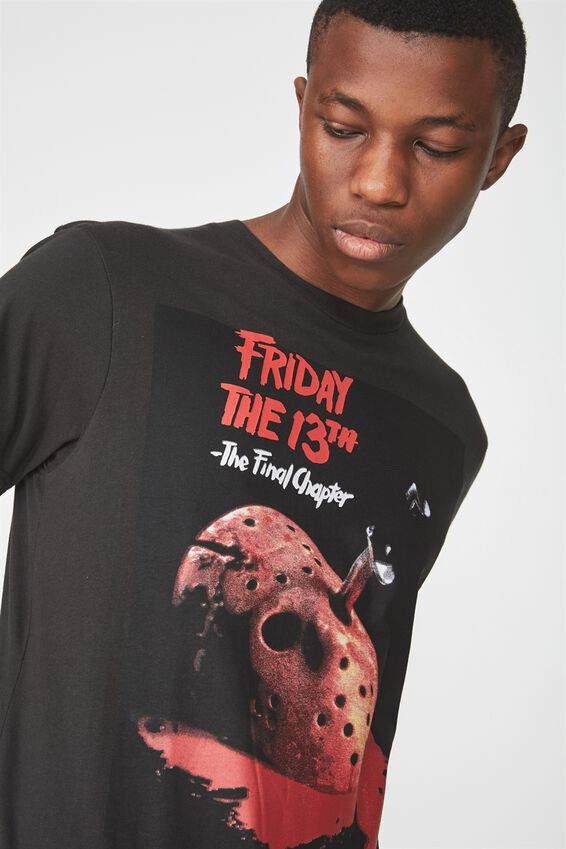 Tbar Collaboration Tee, LC WASHED BLACK/FRIDAY THE 13TH