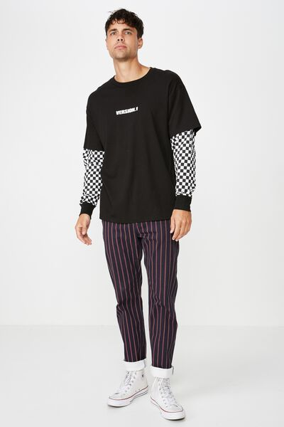 Double Up, BLACK/VERSION 1/CHECKERBOARD SLEEVES