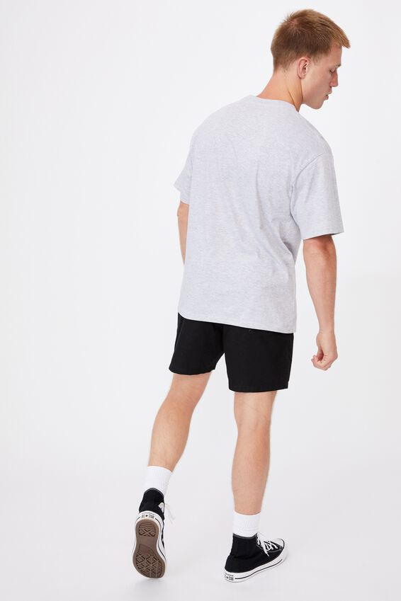 Essential Skate T-Shirt, LIGHT GREY MARLE