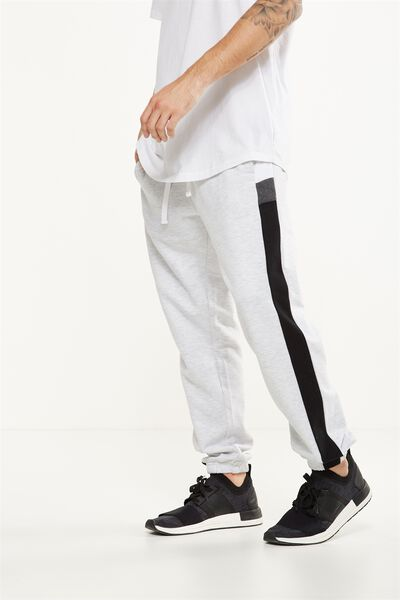 Classic Track Jogger, ATHLETIC MARLE/VINTAGE STRIPE