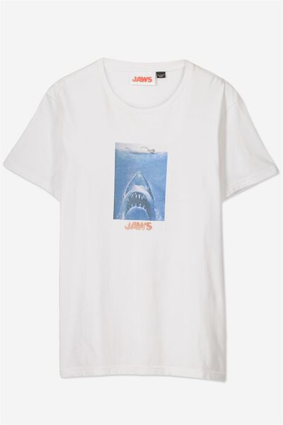 Tbar Collaboration Tee, LC WHITE/JAWS