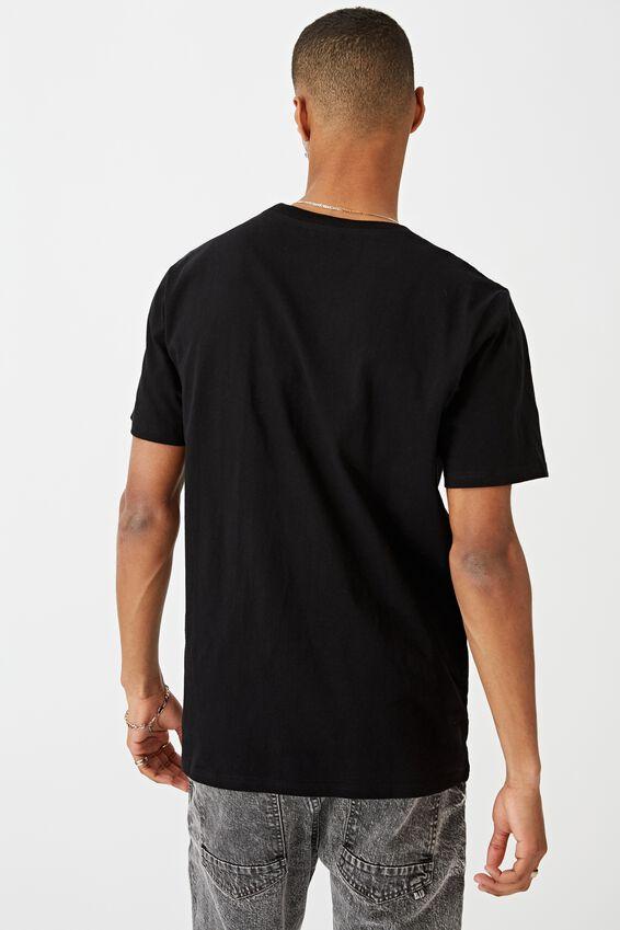 Tbar Text T-Shirt, BLACK/ALWAYS TIRED