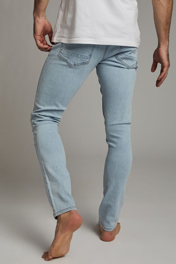 Super Skinny Jean, BROOKLYN BLUE RIPS