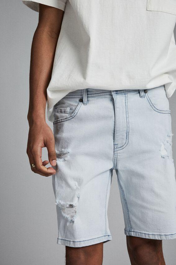 Straight Short, BONDI BLUE + RIPS