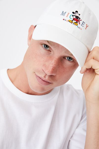 Special Edition Dad Hat, LCN DIS MICKEY NYC/WHITE