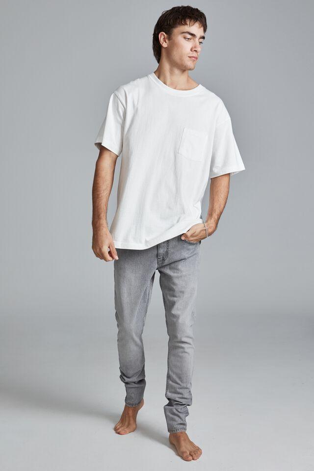 Super Skinny Jean, GRUNGE GREY