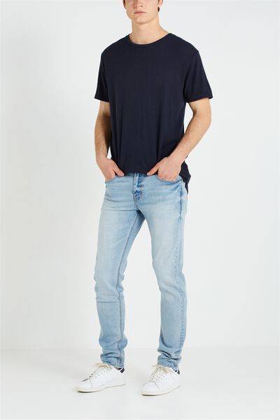 Slim Fit Jean, TREASURED LIGHT BLUES