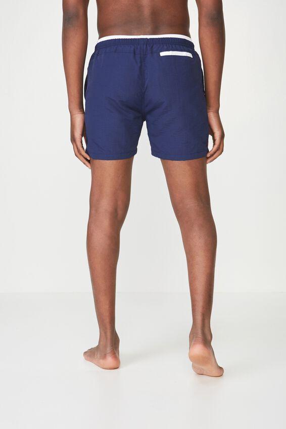 Swim Short, NAVY/WHITE TIP