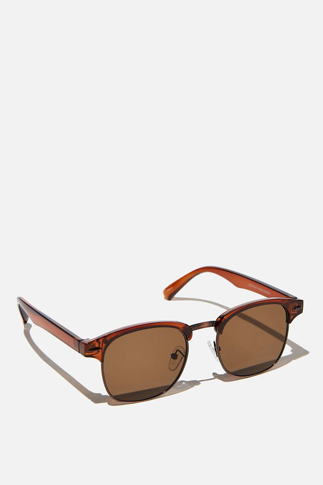 Leopold Sunglasses, TOFFY/COPPER/BROWN