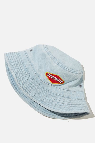 Special Edition Bucket Hat, LCN VEGEMITE/BLUE DENIM