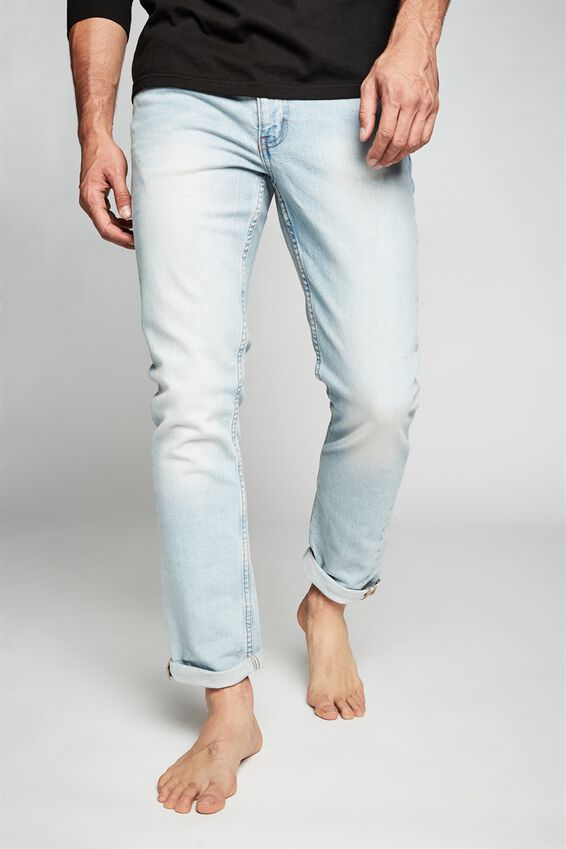 Tapered Leg Jean, OHIO BLUE