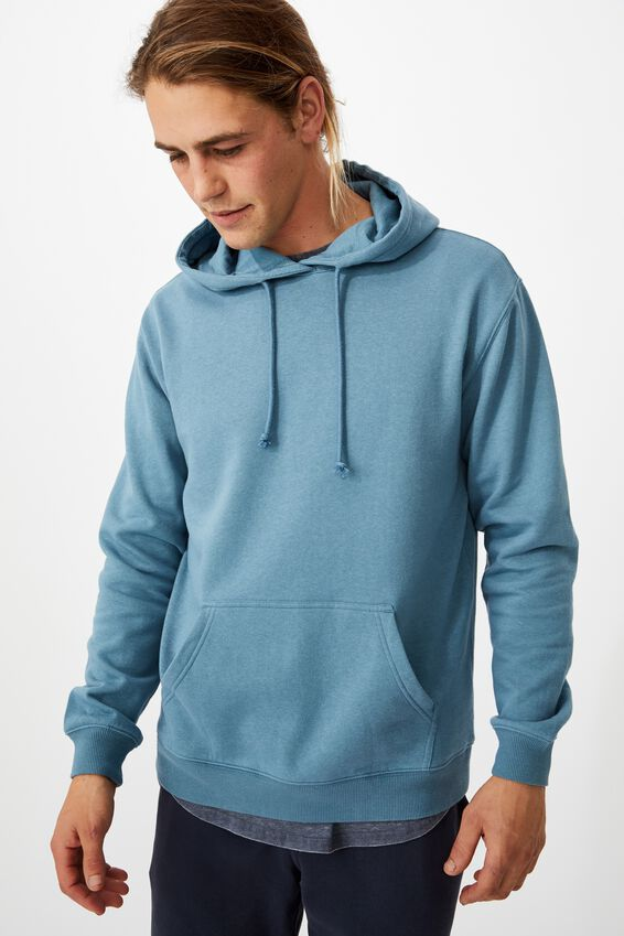 Essential Fleece Pullover, ADRIATIC BLUE