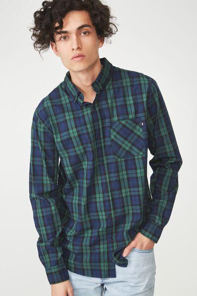 Brunswick Shirt 3, WOODS CHECK
