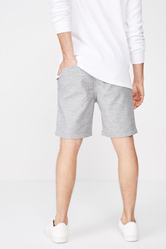 Tailored Casual Short, GREY TEXTURE
