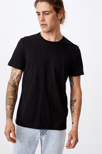 Essential Crew T-Shirt, BLACK