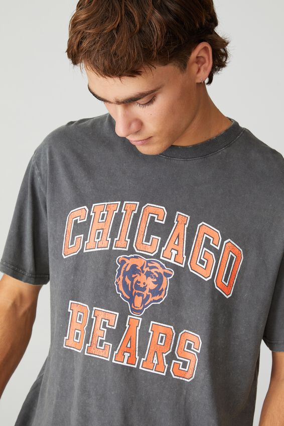 Special Edition T-Shirt, LCN NFL FADED SLATE/NFL - CHICAGO BEARS