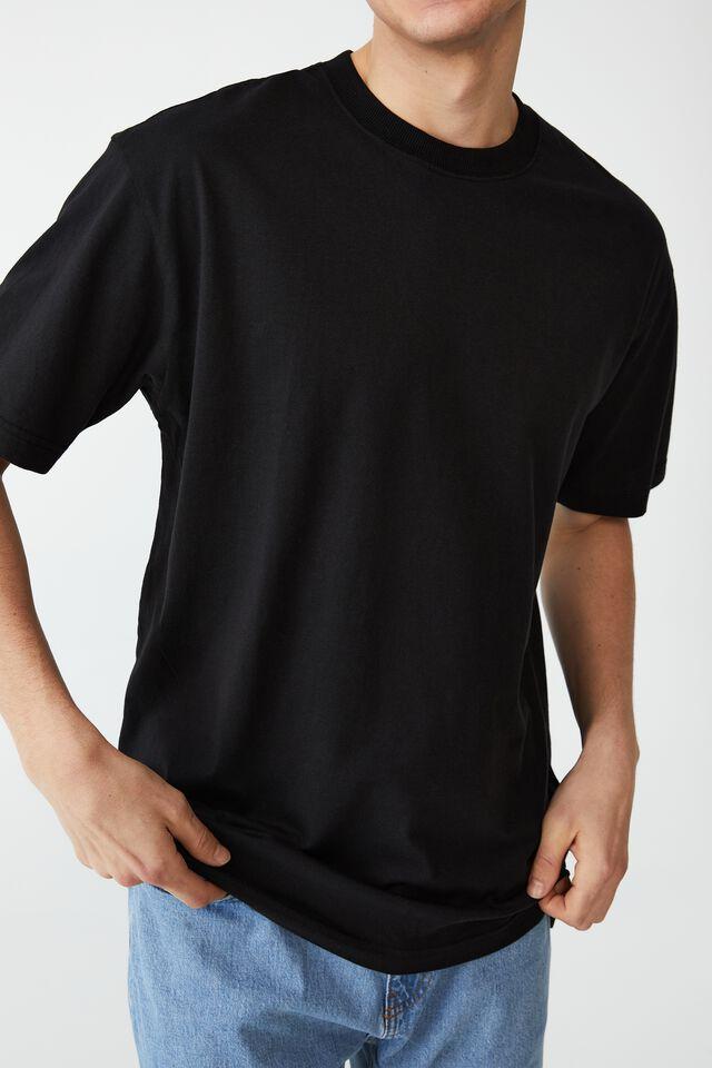 Organic Loose Fit T-Shirt, BLACK