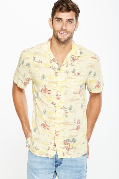 91 Short Sleeve Shirt, MOLOKAI