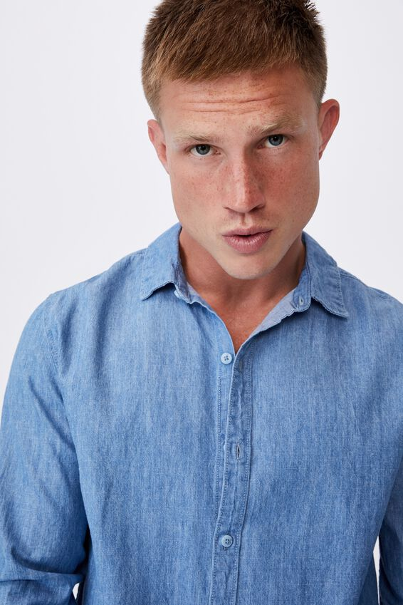 Fitzroy Denim Shirt, EVERYDAY BLUE