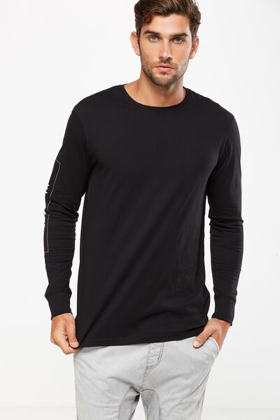 Tbar Long Sleeve, BLACK/NYC PALACE