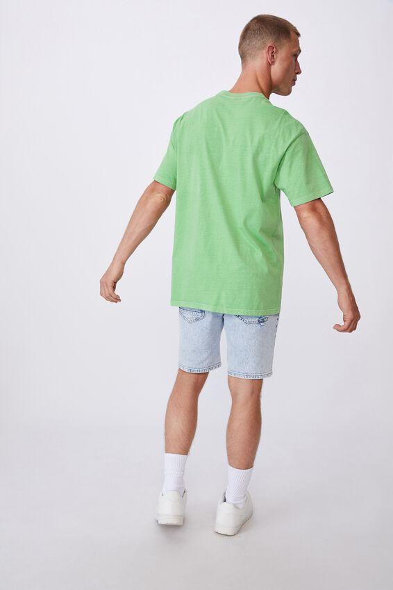 Washed Pocket T-Shirt, WASHED APPLE