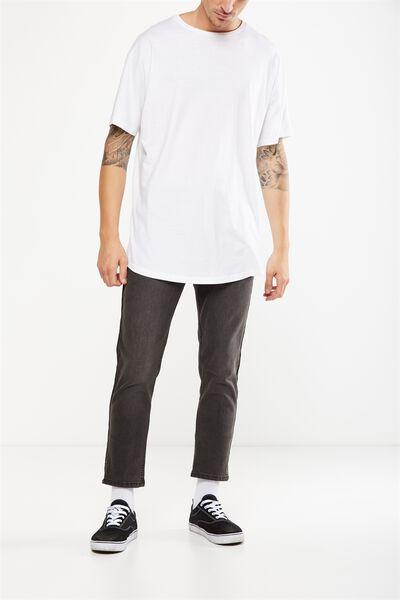 Slim Fit Jean, THUNDER BLACK CROP