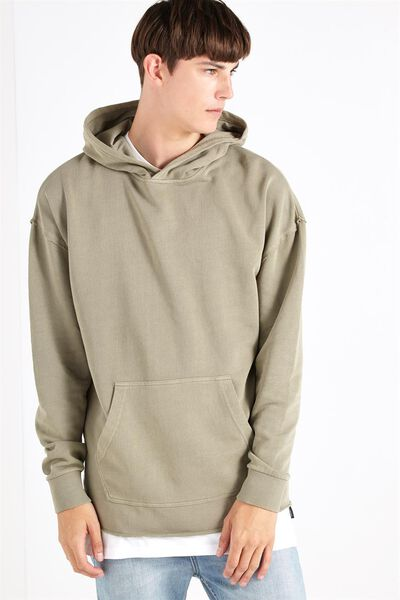 Raw Pullover Fleece, SAGE GREEN