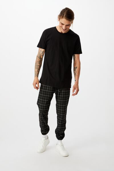 Drake Cuffed Pant, SHADOW CHECK