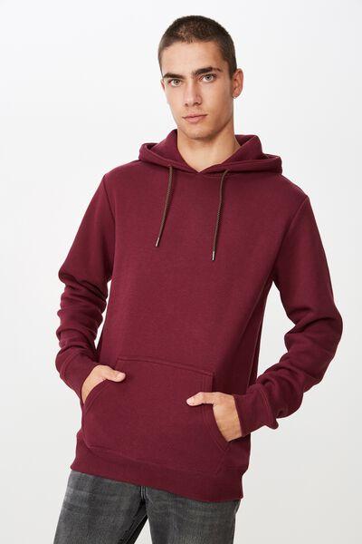Fleece Pullover 2, PORT WINE