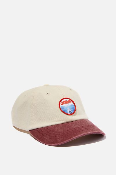 Special Edition Dad Hat, LCN UNI/RED/WHITE JAWS CIRCLE