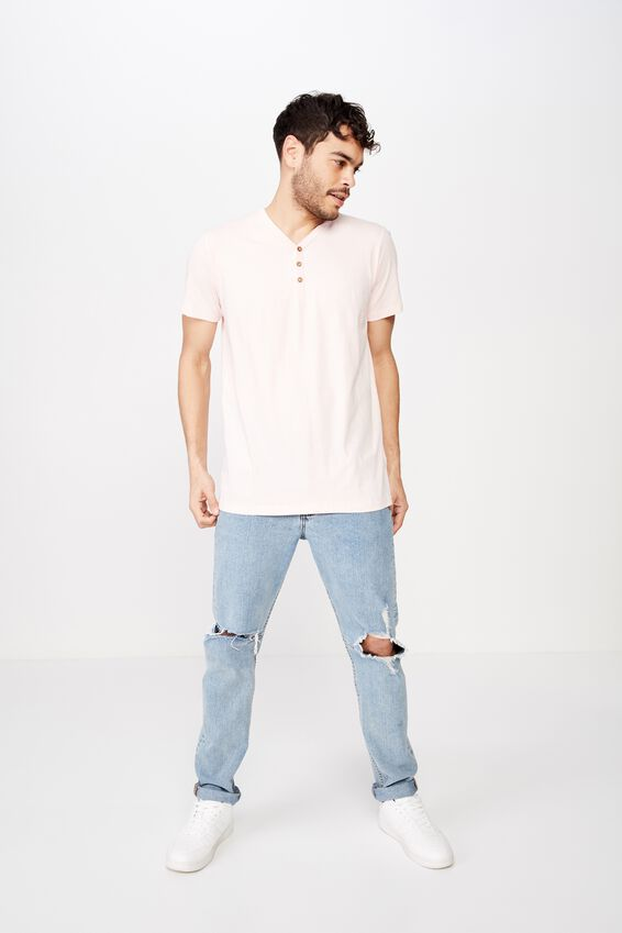 Essential Henley, PARADISE PINK