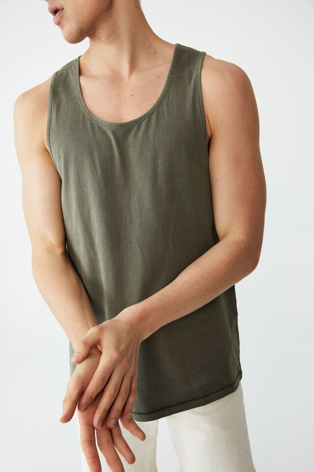Vacation Tank, MILITARY WASHED