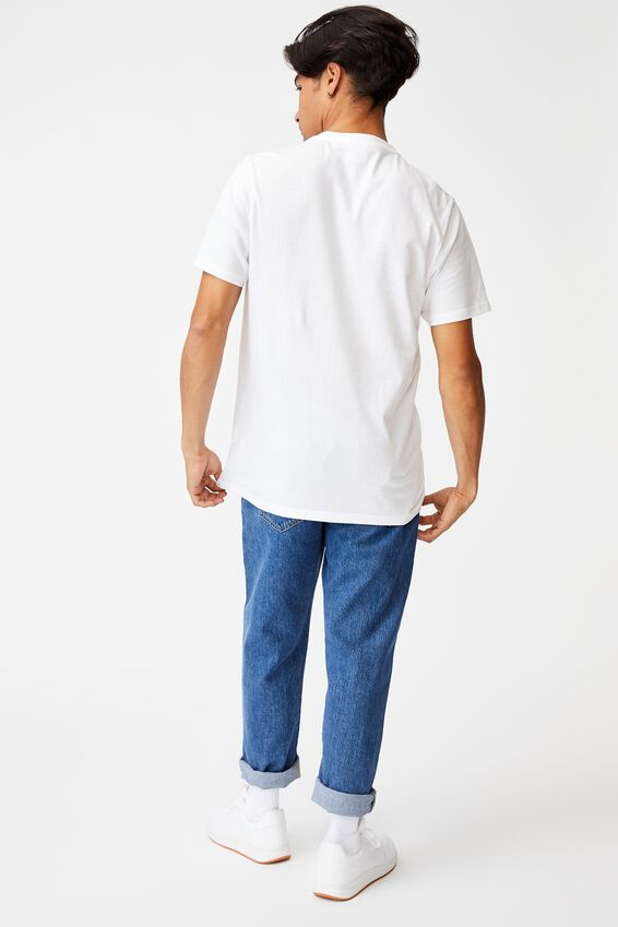 Tbar Collab Music T-Shirt, LCN BRA WHITE/WU TANG KILLA BEEZ