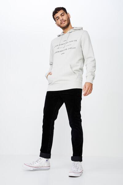 Fleece Pullover 2, SMOKE/SHINJUKU TOKYO