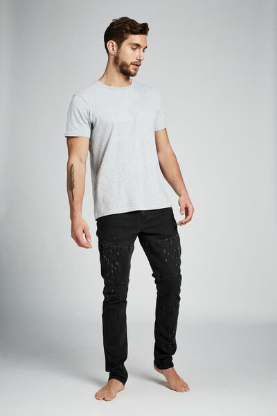 Slim Fit Jean, BLACKOUT UTILITY