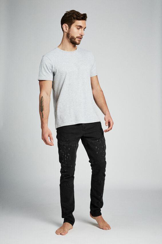 Slim Fit Jean, BLACKOUT UTILITY