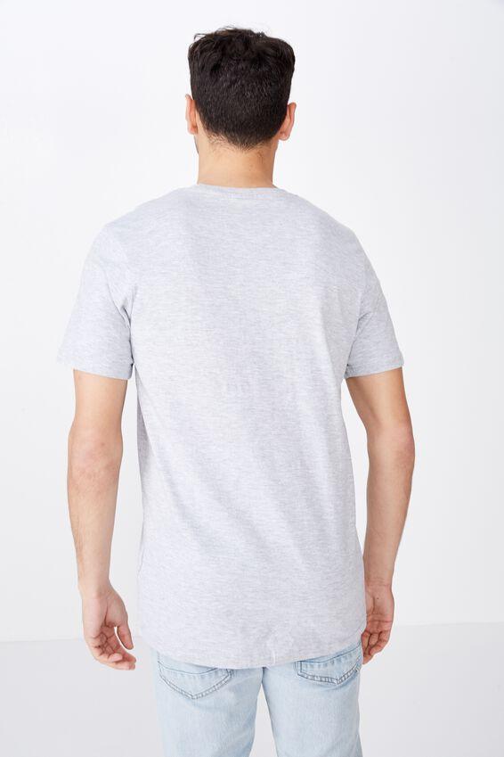 Tbar Text T-Shirt, LIGHT GREY MARLE/NY SUPPLY CO