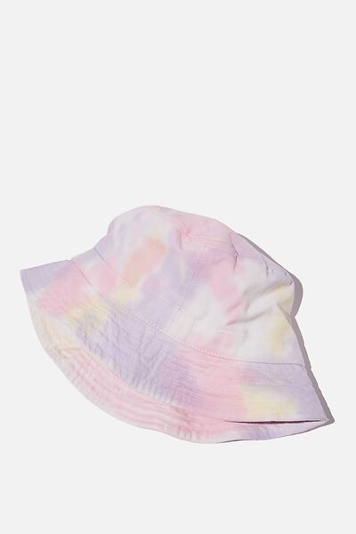 Special Edition Bucket Hat, VIOLET/PINK/YELLOW/TIE DYE