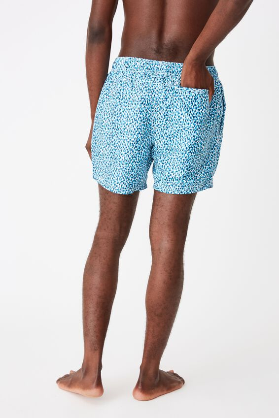 Swim Short, BLUE SPECKLES