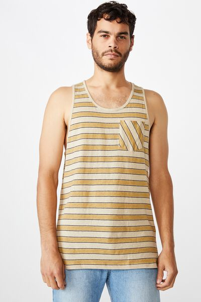 Tbar Tank, STONE CLAY/CAMEL/INK NAVY/NEWPORT STRIPE