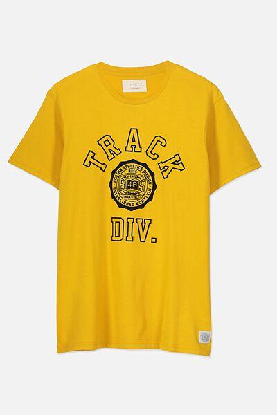 Tbar Tee 2, ARTISANS GOLD/TRACK DIV
